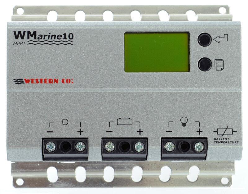 Solar Charge Controller / Regulator MPPT Western Wmarine10 12/24V