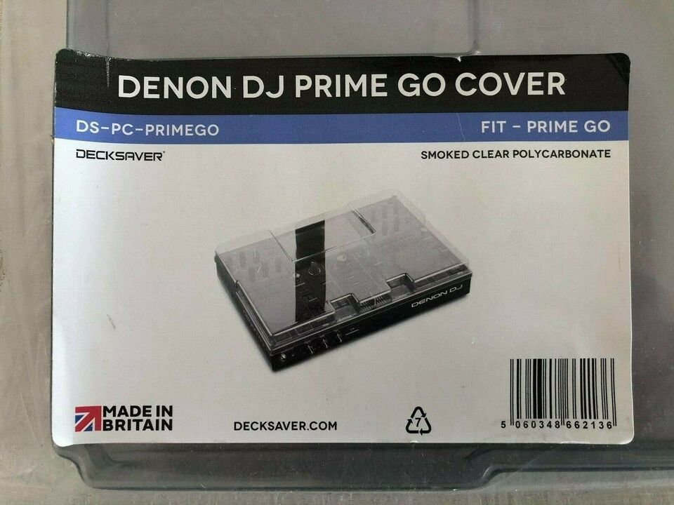Decksaver DJ Denon Prime GO, Decksaver Decksaver Prime Go
