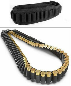 New Shotgun bandoleer Rifle Sling holds 56 shells for 12 or 20 gauge /56 Rounds