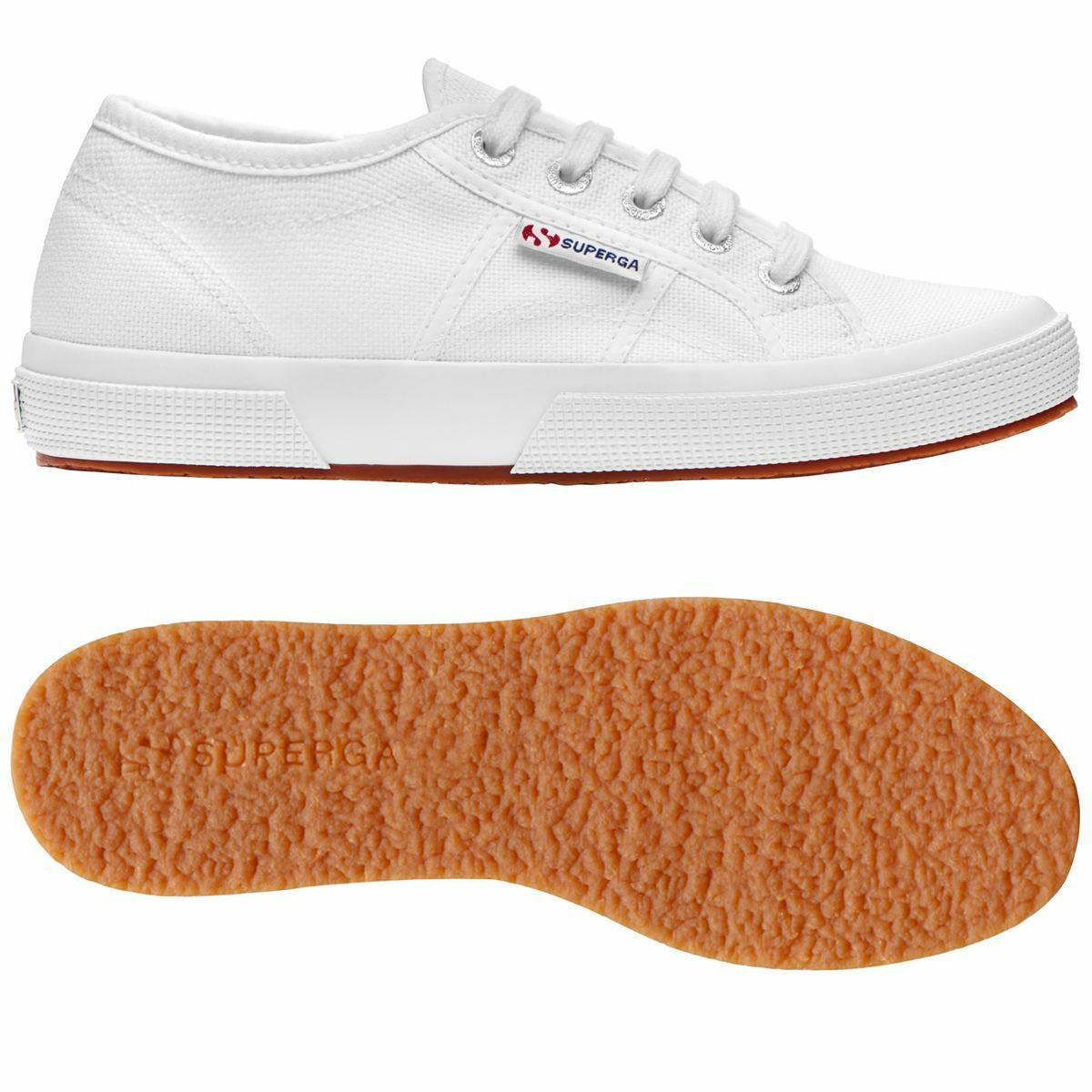 shoes Superga women women women - 2750 Plus Cotu Tela - Bianco - 2750P 57fa17