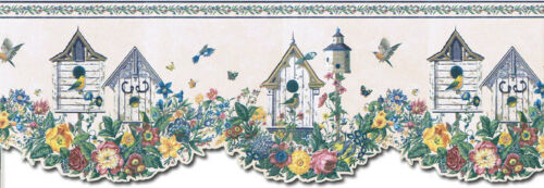 Birds House Wallpaper Border B4003SUM
