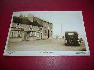 RP-Photo-Postcard-Heybridge-Basin-Old-Ship-Essex-Motor-Car-TW4009-Lillywhite-c28