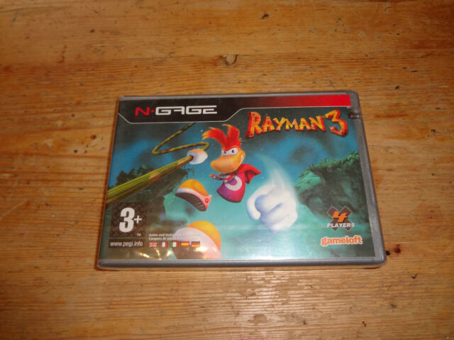 Rayman 3 for Nokia N-Gage sealed