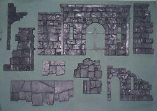Games Workshop ruinas de Osgiliath-Sección de pasarela de ruinas (8 Piezas Set)