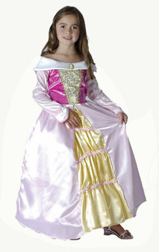 Girls Sleeping Princess Gown Fairy Tale Fancy Dress Costume Outfit New Age 9-11