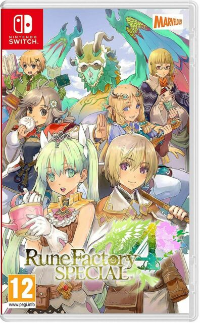 Rune Factory 4 Special (Nintendo Switch) IN STOCK Brand New & Sealed Free UK P&P