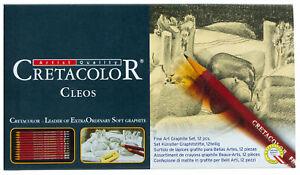 Cretacolor-Cleos-Fine-Art-Graphite-Pencils-Set-9B-8B-7B-6B-5B-4B-3B-2B-B-HB-F-2H