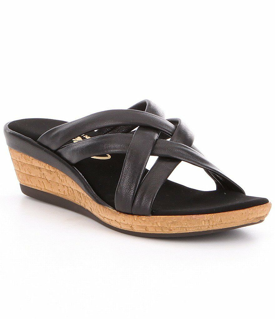 ONEX WOMEN'S CAMY WEDGE SLIDE COMFY SANDAL, MADE IN USA