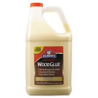 Elmers Carpenter Wood Glue Beige Gallon Bottle E7050 on sale