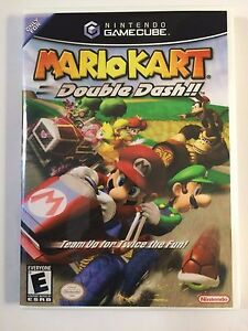 Details About Mario Kart Double Dash Original Gamecube Replacement Case No Game