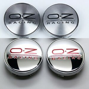 4X Black 56mm Wheel Center Hub Cap Emblem Badge Decal Sticker for OZ Racing