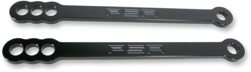 """Lowering Link Black STK//2/""""//4/"""" Drop PSR 05-00752-22 For 96-15 SV650 GSXR VStrom"""