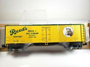 Weaver-Reed-039-s-Dairy-3-Rail-Refrigerator-Reefer-Car-New-in-Box