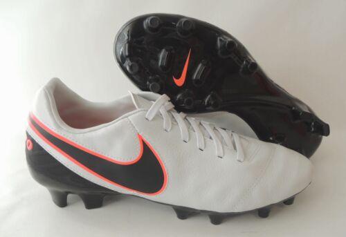 NEU Nike Tiempo Mystic V FG Größe 40,5 Nocken Fußballschuhe 819236-001 Leder Fußball