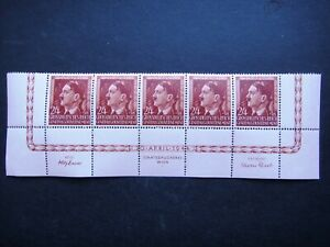 Germany Nazi 1944 Stamps MNH Adolf Hitler 55th birthday Generalgouvernement WWII
