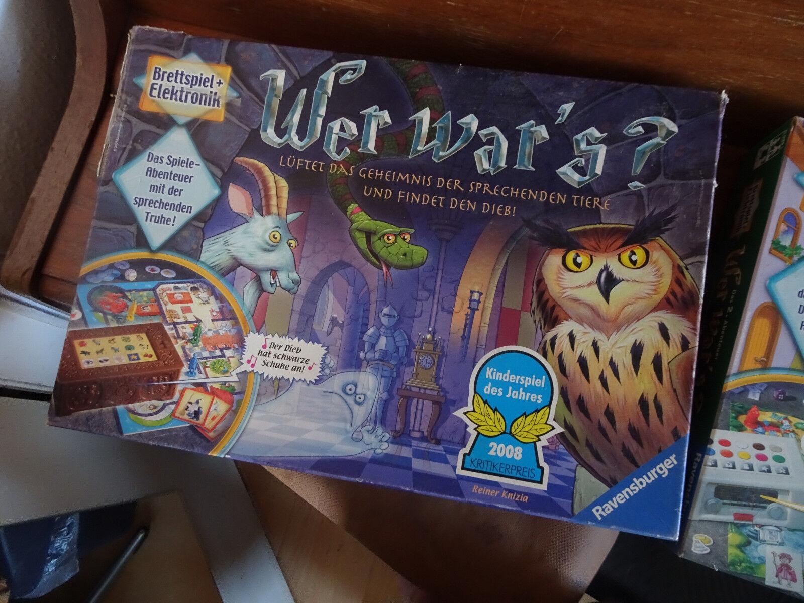 Ravensburger    Wo war´s - Wer war´s - Wer war´s 2 - Spielesammlung top Spiele 2e3d2a