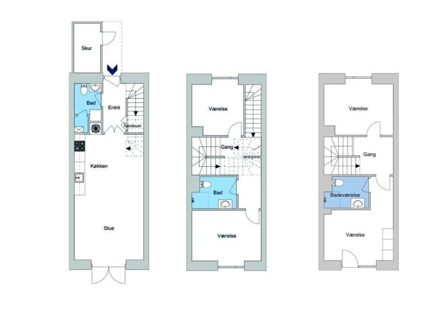 2610 vær. 5 lejlighed, m2 141, Islev Have