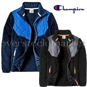 8b195f778df27f NEW BOYS CHAMPION C9 MODERN FLEECE FULL ZIP JACKET! VENTURE WARM ...