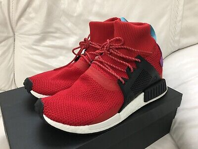 Adidas Originals NMD XR1 Winter Scarlet Red Black Shock Purple Men's Size 11 New   eBay