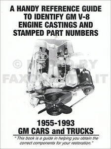 1955-1993 Chevy V8 Engine Casting Numbers Guide 283 305 327