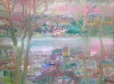 BALITRAN (Né en 1930) Côte provençale Loire Huile sur toile signée
