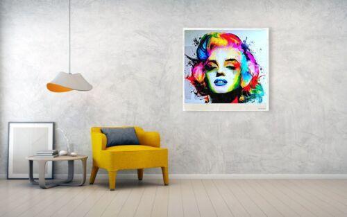 Marilyn Monroe  XXL 120 x 120 cm Alu Dibond 3 mm Pop Art//Malerei//StreetArt