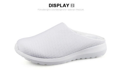 Pink Candies Women Mesh Slippers Comfy Wear Home Shoes Beach Sandals Casual Shoe