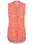 Ex-Store-Ladies-Pleated-V-Neck-Chiffon-Sleeveless-Blouse-Size-8-24 thumbnail 3
