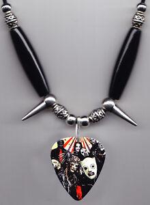 Slipknot-Band-Photo-Guitar-Pick-Necklace-7