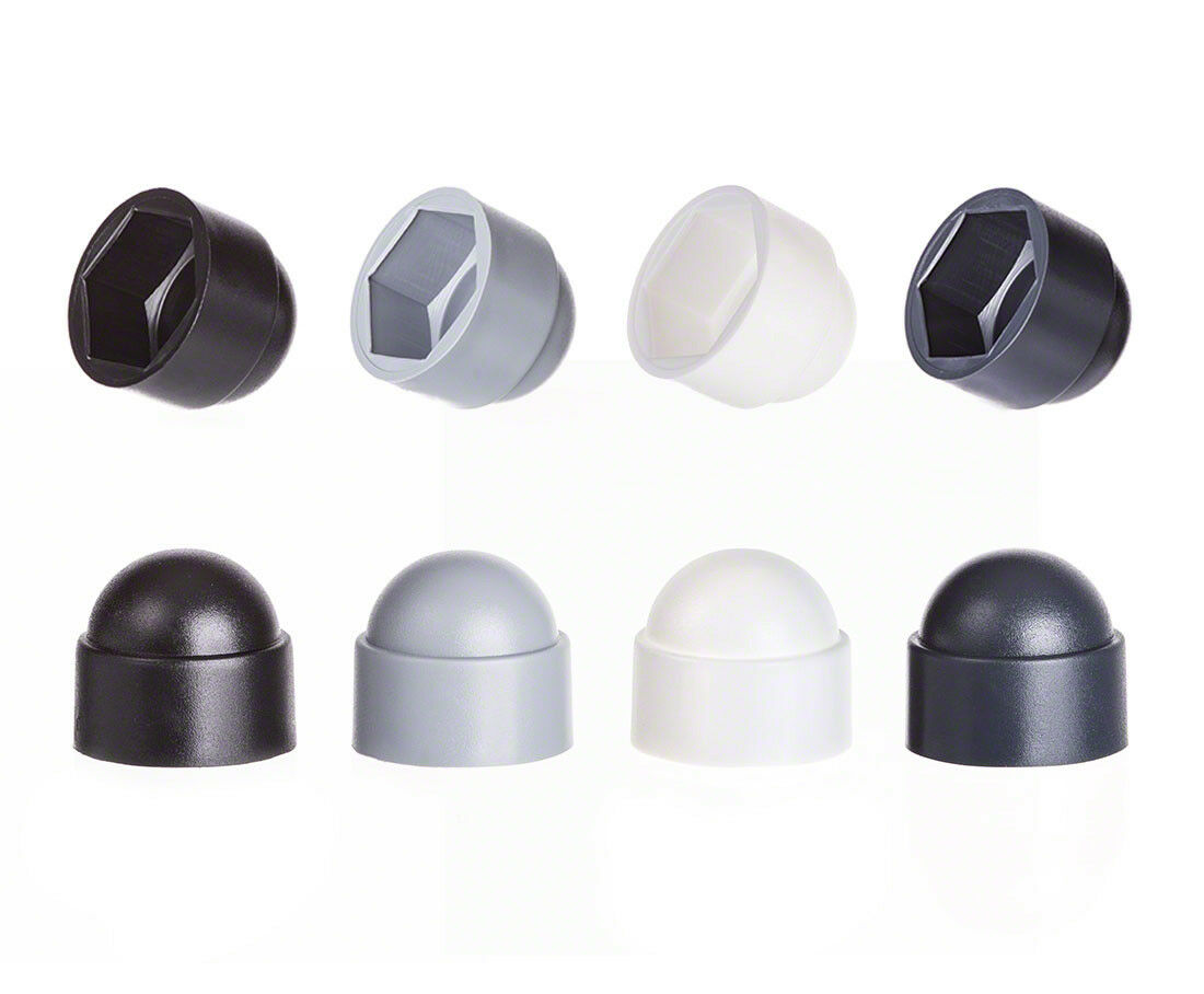 Bolt nut protection caps cap cover for screws hexagonal plastic dome screw