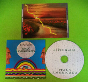 CD-LORIS-GUIDI-Italo-Americano-Autoprodotto-no-lp-dvd-vhs-XI5