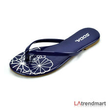 dd4c78601 item 8 Women s T-Strap Thong Flip Flops Casual Flats Sandal Slippers Soda  Shoes Branta -Women s T-Strap Thong Flip Flops Casual Flats Sandal Slippers  Soda ...