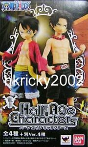 Details About One Piece Half Age Characters Vol 1 Monkey D Luffy Portgas Usopp Nico 8 Pcs Set