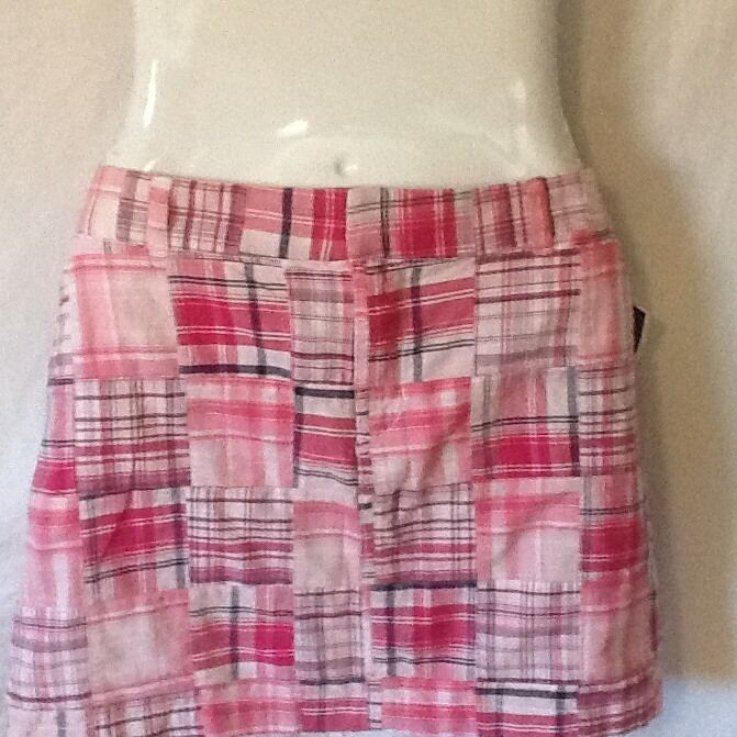 Telluride Clothing Co. Women's Skirt Pink Patchwork Size Large NWT