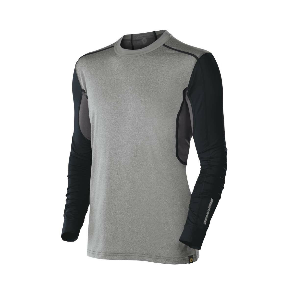 9b1f1ed5aa0 DeMarini Mens Comotion Game Day Long Sleeve T Shirt Grey Navy Large (Cart)