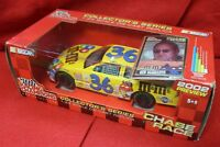 2001 36 Ken Schrader Driver's Autograph Racing Champions M&m's Chase The Race