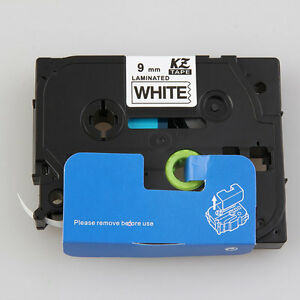 Profession-9mm-Black-on-White-Label-Tape-Compatible-For-Brother-TZe-221TZ-621-DH