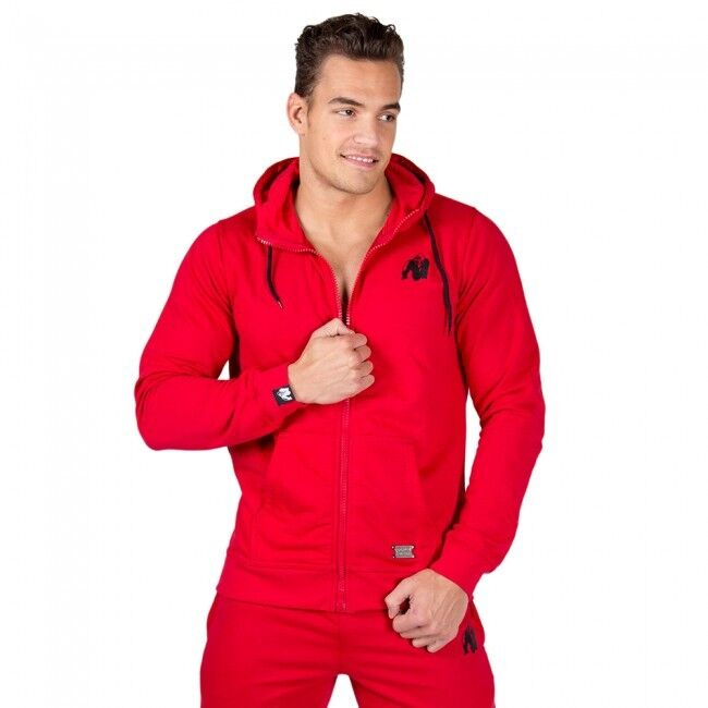 Gorilla Hoodie Wear Classic Zipped Hoodie Gorilla – ROT Bodybuilding Fitness 8d8512