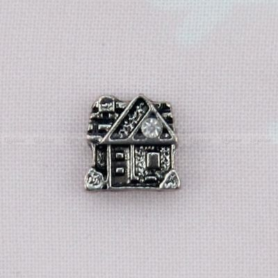 Floating Locket Charms Building Alloy for Glass Living Memory Lockets Fashion 1p