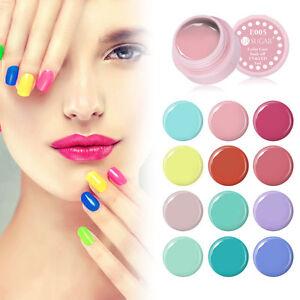 Soak-Off-Painting-Gel-Candy-Color-Coat-UV-LED-Polish-Nail-Art-UV-Gel-Varnish-5ml