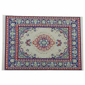 1:12 Dollhouse Miniature Floor Rug Carpet for Interior Modelling---24 x 15 I1J2