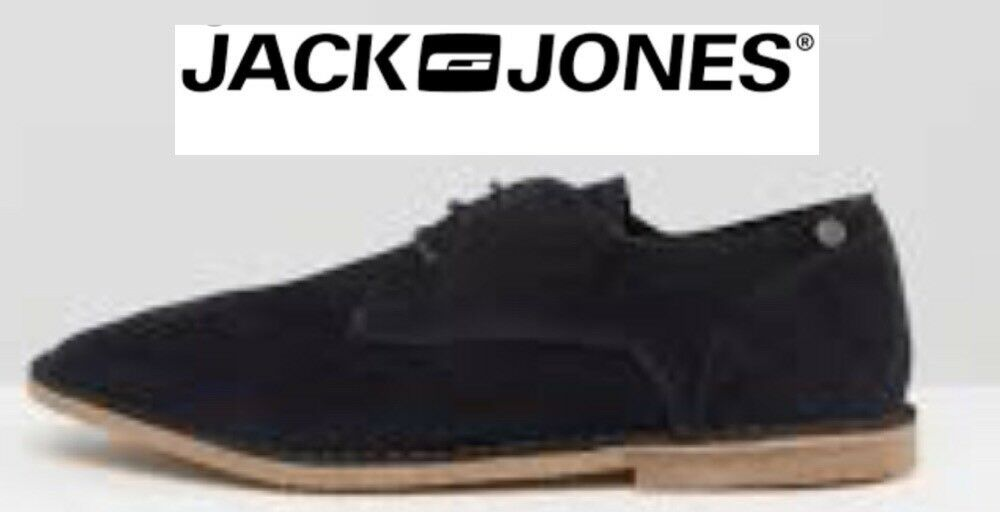 Jack Jones Footwear JFW Damon Suede Desert shoes bluee Size Uk11 Brand New