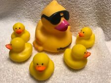 Classic RUBBER DUCKY Floating Bath Time Toy Ernie Duck Baby Tub Yellow Duckie