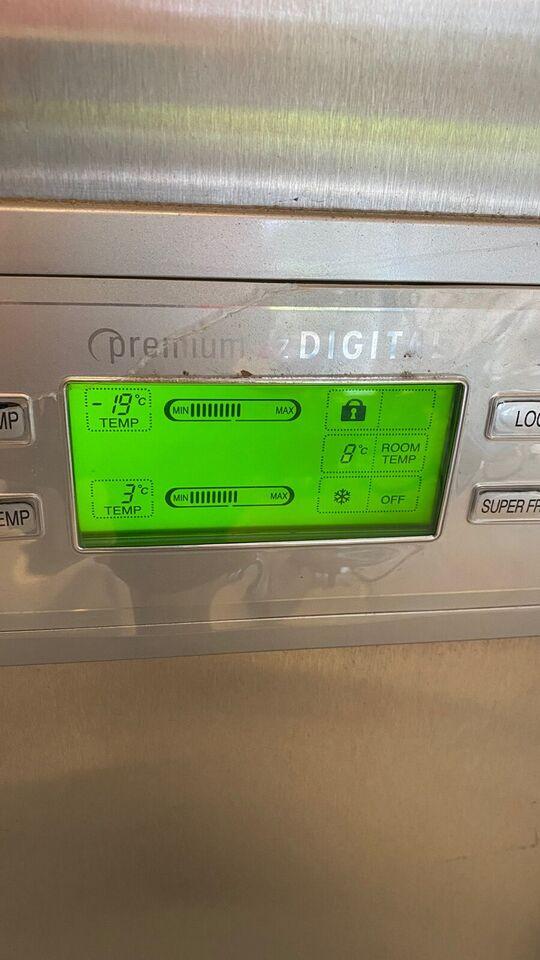 Amerikansk køleskab, LG Premium EZ DIGITAL, 250 liter