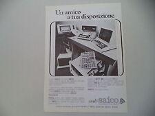 advertising Pubblicità 1977 MITO SAICO