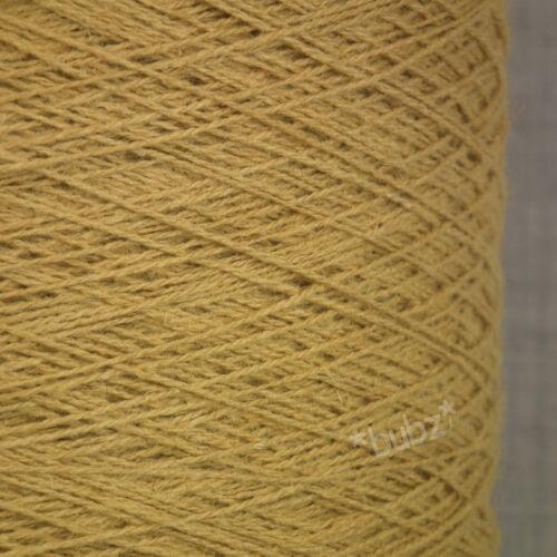 Hilado de lino puro oro antiguo enorme 800g Máquina para hacer punto tejer de cono hilo de lino