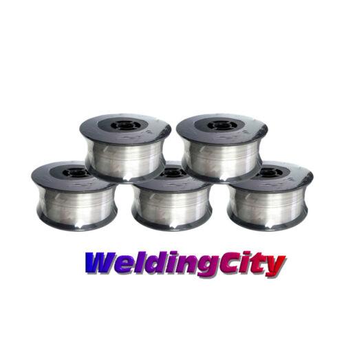 WeldingCity 5-pk Stainless 316L MIG Welding Wire ER316L .030 (0.8mm) 2-lb Roll
