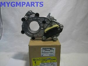 traverse acadia enclave equinox cts 3 6 engine oil pump new oem gm rh ebay com