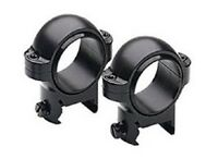 Burris Medium Signature Weaver Style Zee Rings Pair 1 - Matte Black 420521