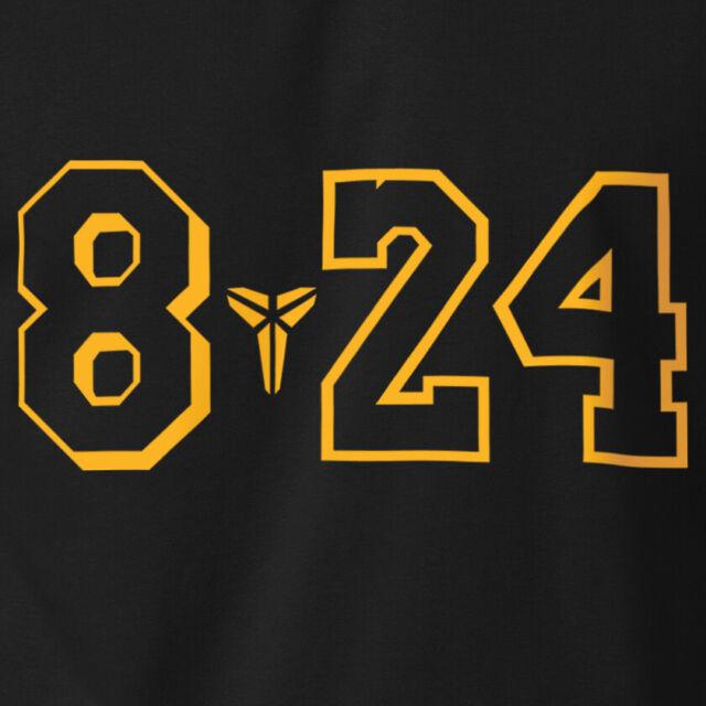 T-Shirt Black Mamba Lakers Basketball